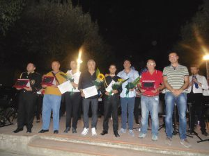 Atella i 4 direttori di orchestra con il vice Sindaco Ivan De Biase