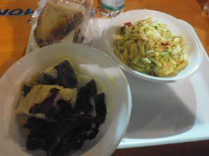 Avigliano i due piatti degustati dal gruppo del Vulture-melfese