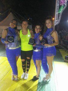 Ripacandida la mestra di ballo Santarsieri con le migliori allieve premiate