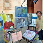 matera pittore espone quadri