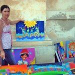 matera pittrice espone quadri