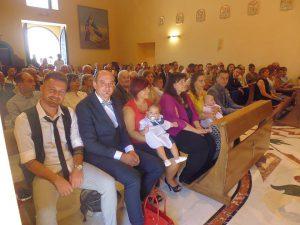 Ginestra due Battesimi di Andrea e Greta auguri ai genitori e padrino e madrina