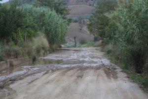 Montemilone ecco lo stato della S.P.21 in caso di pioggia