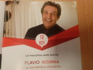Lavello il logo di Flavio Insinna