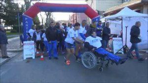 Melfi alcuni atleti disabili del centro Aias